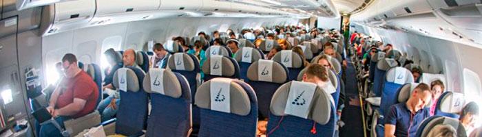 места в самолете