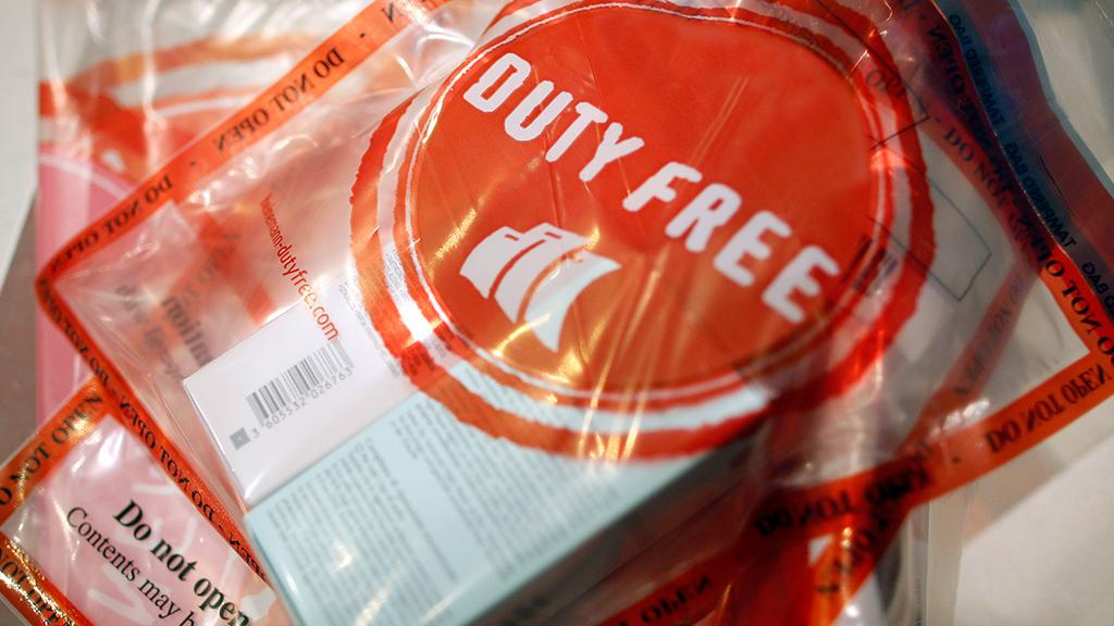 Пакет с чеком Duty Free